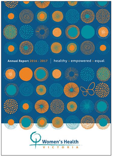 Women's Health Victoria annual report 2016-2017
