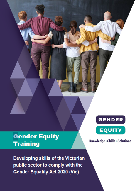 Gender equity training: Gender Equality Act 2020 (Vic.) cover image