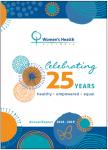 Women's Health Victoria Annual Report 2018-2019 cover image