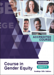 Course In Gender Equity: accredited course brochure cover image