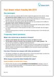 Infant Viablity Bill 2015 fact sheet